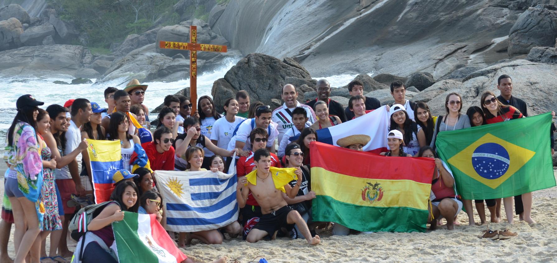 Semana Missionária mostra aos jovens peregrinos projetos de evangelização