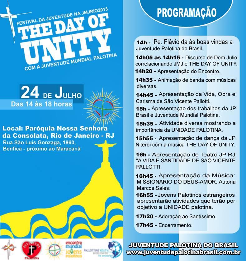 Dia da unidade com a juventude palotina