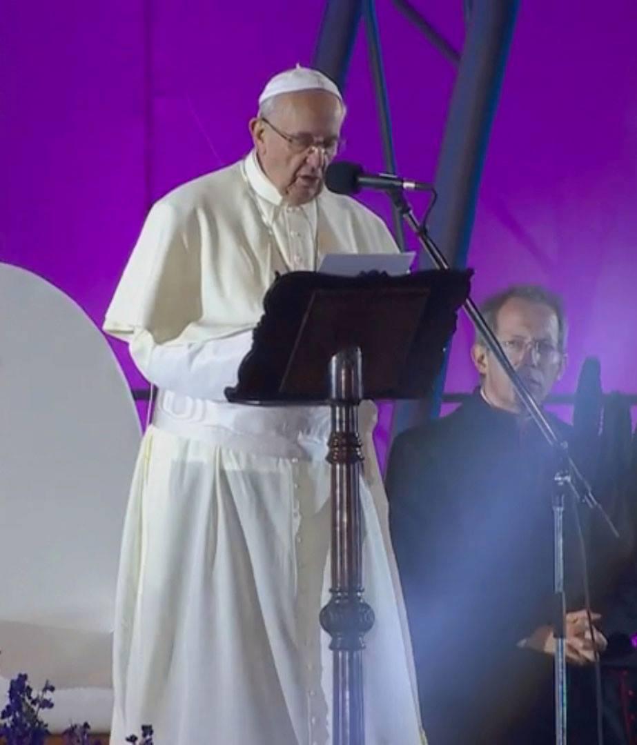 Discurso do Papa Francisco na Via Sacra da JMJ Rio2013