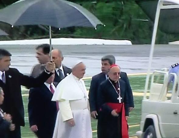 Papa Francisco na terra da Padroeira do Brasil