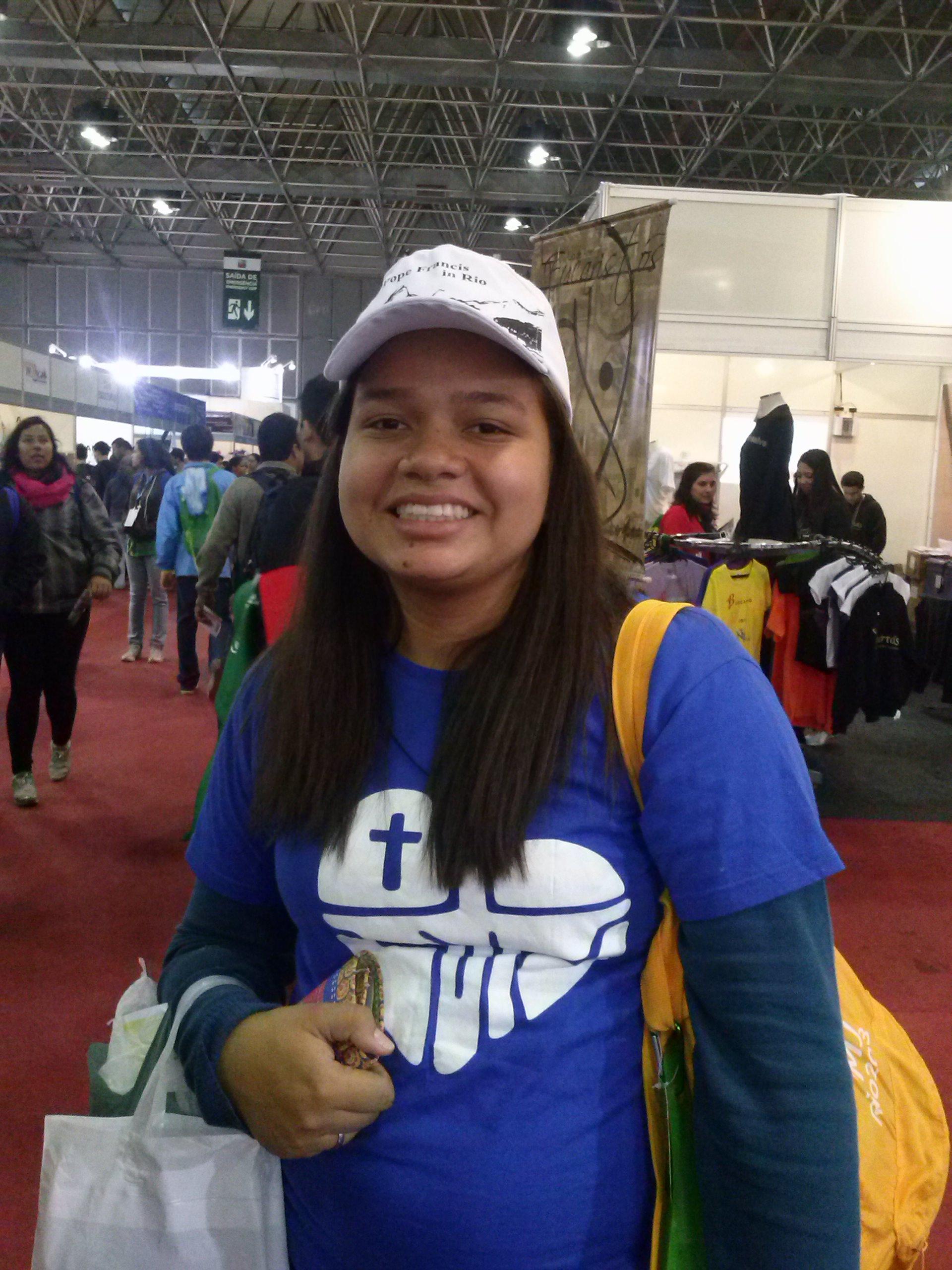 Jovem viajou mais de 3 mil km para participar da JMJ