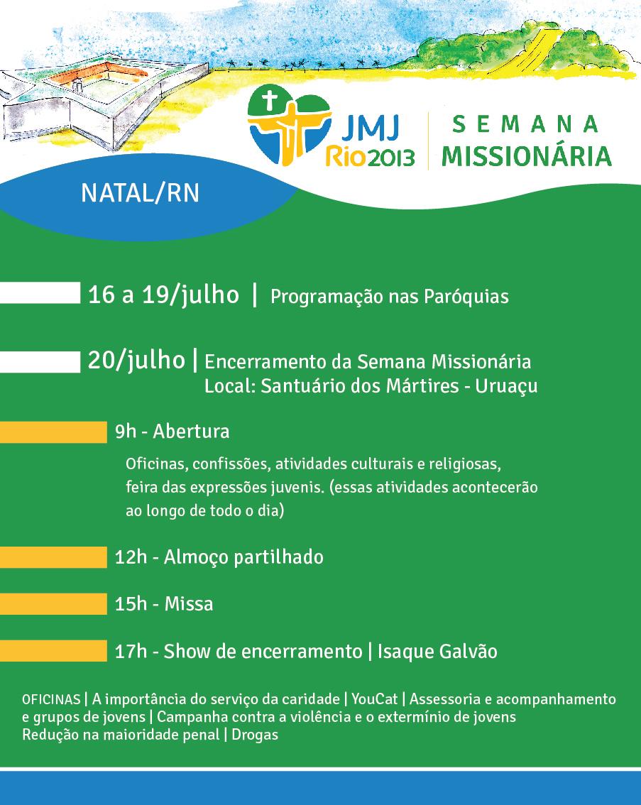 Semana Missionária de Natal será encerrada em Uruaçu