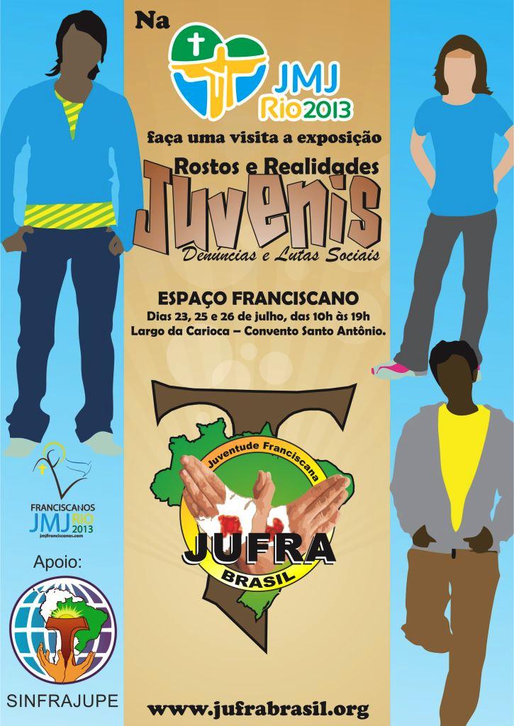 Programação da Juventude Franciscana do Brasil na JMJ