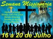 Diocese de São João Del Rei (MG) divulga programação da Semana Missionária