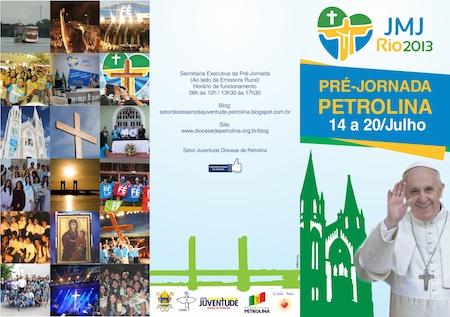 Pré-Jornada Mundial da Juventude já tem programação definida em Petrolina