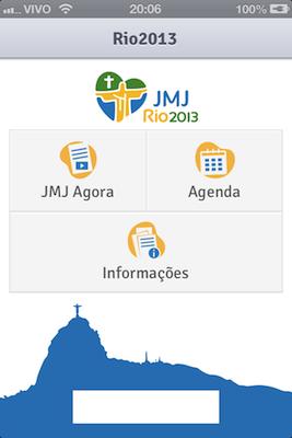 Aplicativos levarão informações da JMJ Rio2013 a peregrinos e voluntários