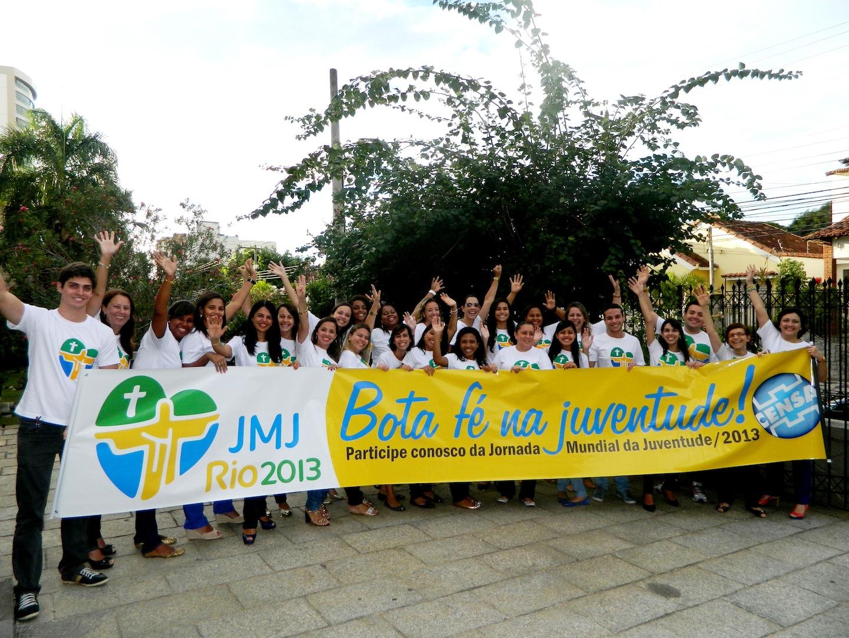 Diocese de Campos(RJ) acolhe jovens peregrinos em Semana Missionária