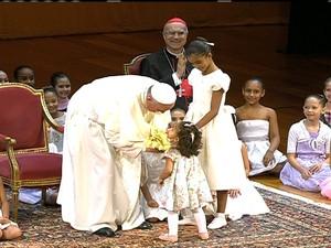 Discurso do Papa ao abrir a Vigília em Copacabana