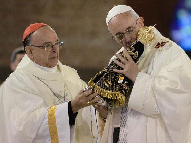 Veja íntegra da homilia do Papa Francisco na missa de Aparecida