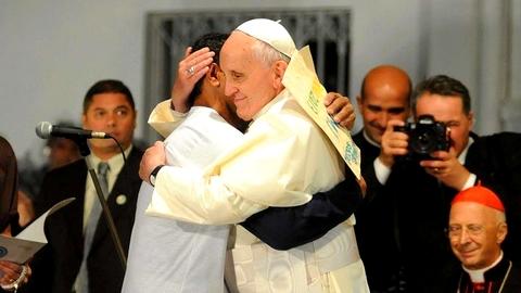 Discurso do Papa Francisco na inauguração do Centro de Atendimento para dependentes químicos