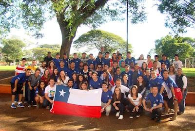 Salesianos do Chile chegaram para a Semana Missionária