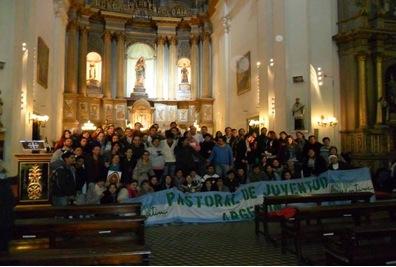 Jovens argentinos a caminho da JMJ