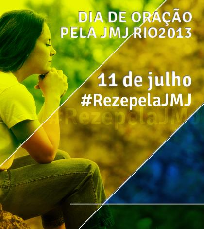 Site #RezepelaJMJ congrega iniciativas de oração pela Jornada Mundial da Juventude