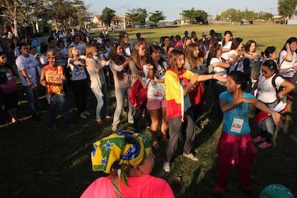 Tarde cultural com visita a Igreja Histórica em semana missionária em Campos (RJ)