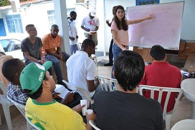 Perseguidos em seus países, peregrinos da JMJ Rio2013 pedem refúgio no Brasil
