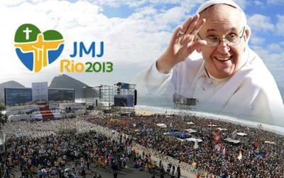 JMJ Rio2013: um oceano de fé e esperança