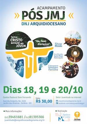 """Setor Juventude de Goiânia realiza acampamento """"Cristo Bota Fé no Jovem"""""""