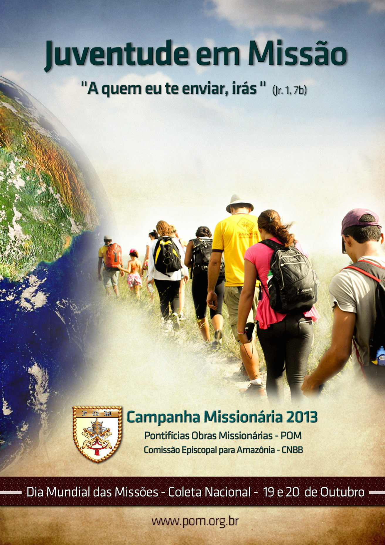 Campanha Missionária 2013 destaca juventude e missão universal da Igreja
