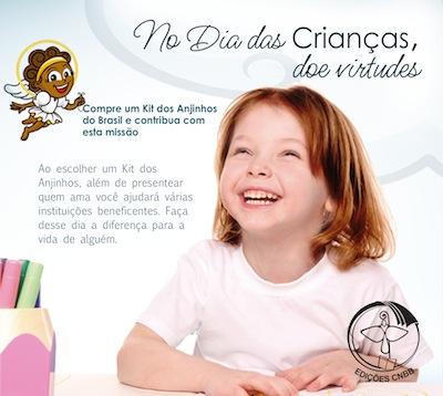 Promoção do dia das crianças - Anjinhos do Brasil
