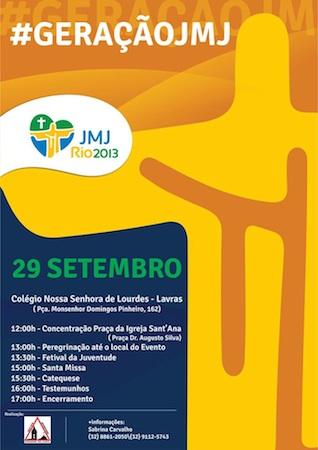 São João del-Rei (MG) realiza evento #GeraçãoJMJ