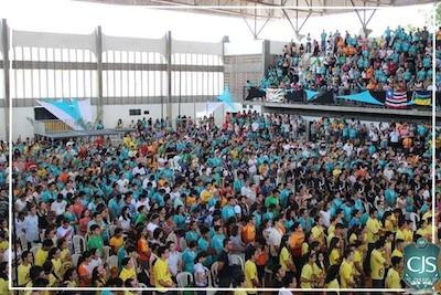 Mais de 3 mil jovens participam de congresso da Comunidade Shalom para partir em missão