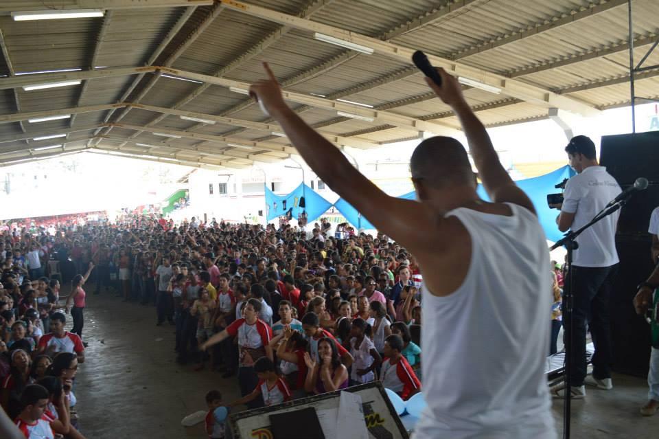 Oito mil jovens participaram do DNJ na Diocese de Serrinha, na Bahia