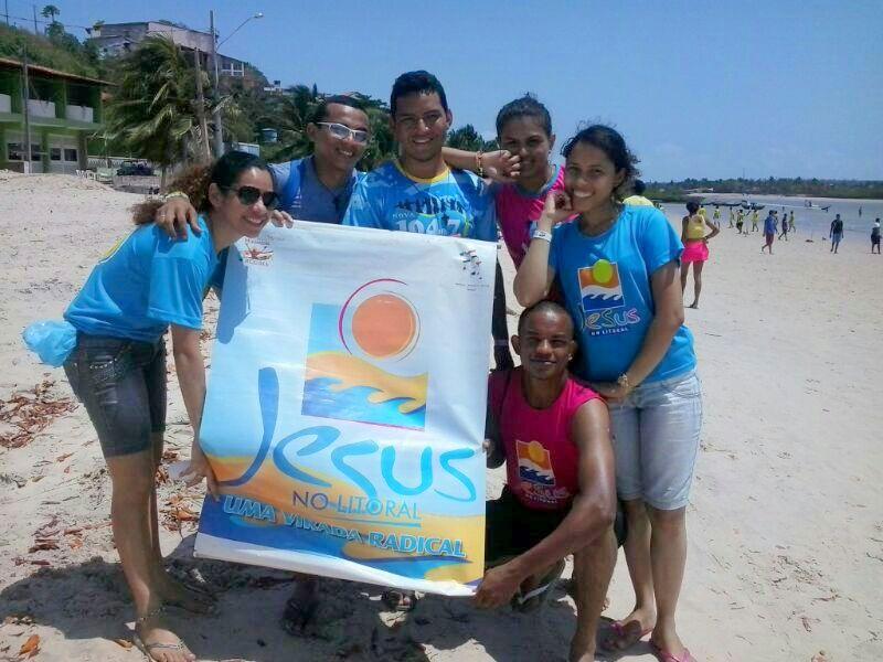 Projeto Jesus no Litoral Maranhão começa temporada de Missão