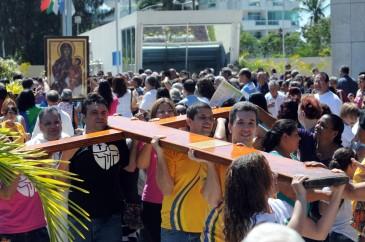 Brasil se despede dos símbolos da JMJ