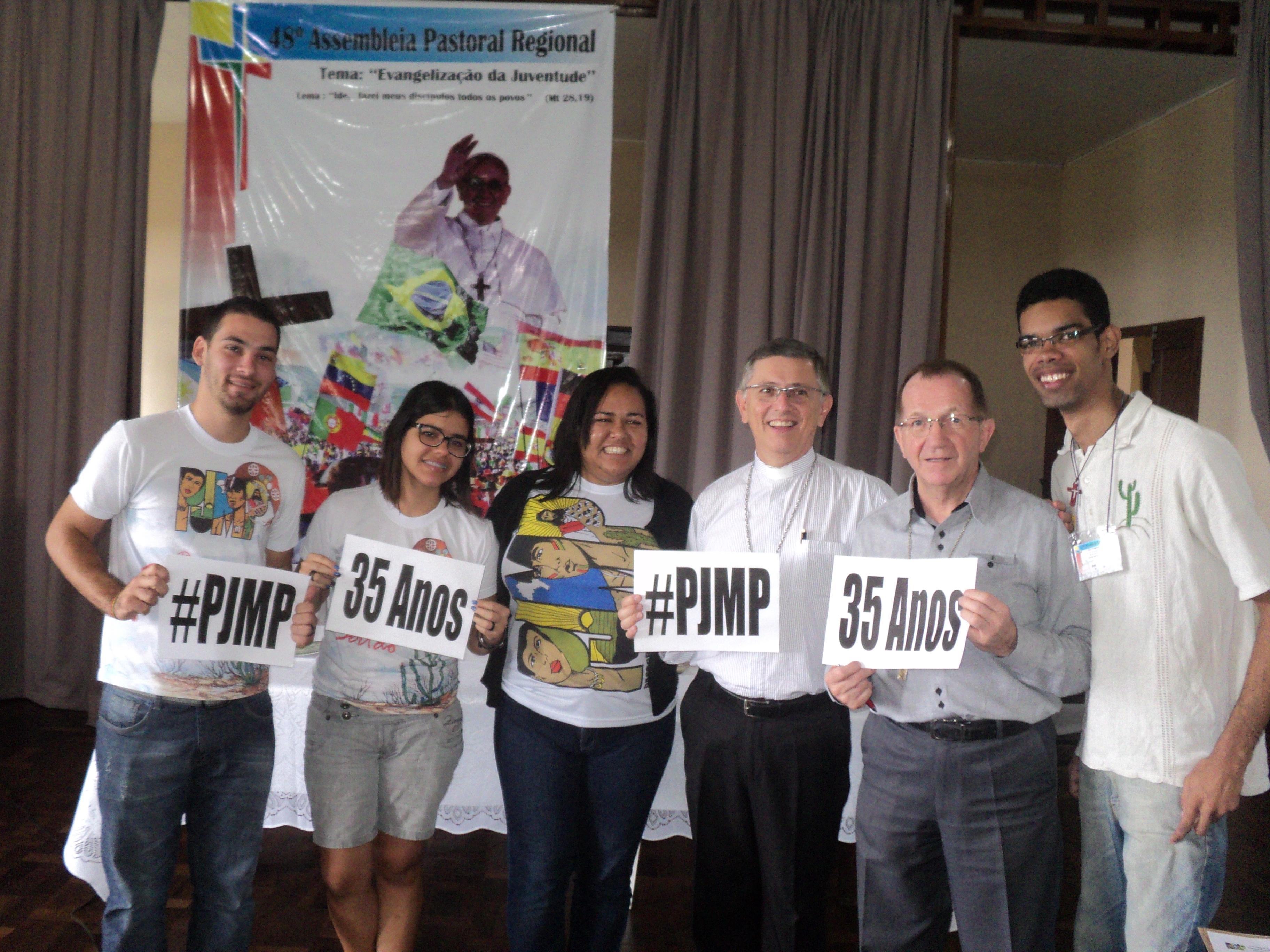 Bispos referenciais de juventude recebem convite para Congresso Nacional da PJMP
