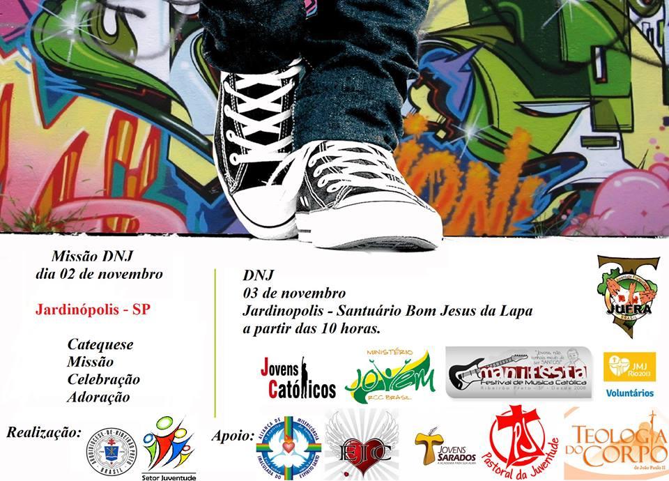 DNJ da Arquidiocese de Ribeirão Preto será marcado por evangelização nas ruas