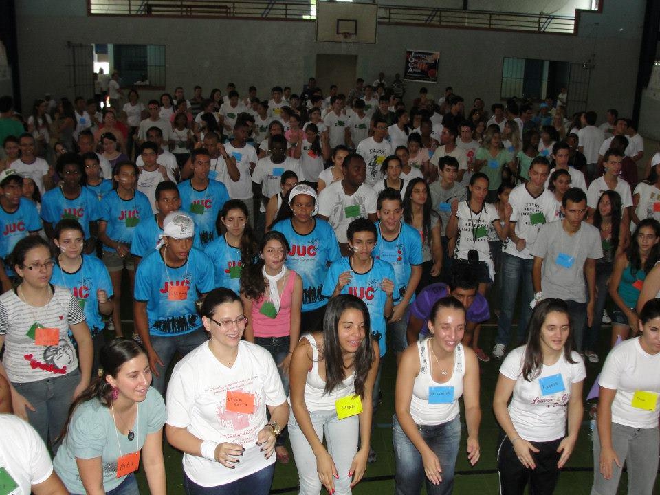 Jovens de Passos participam do DNJ em Guaxupé