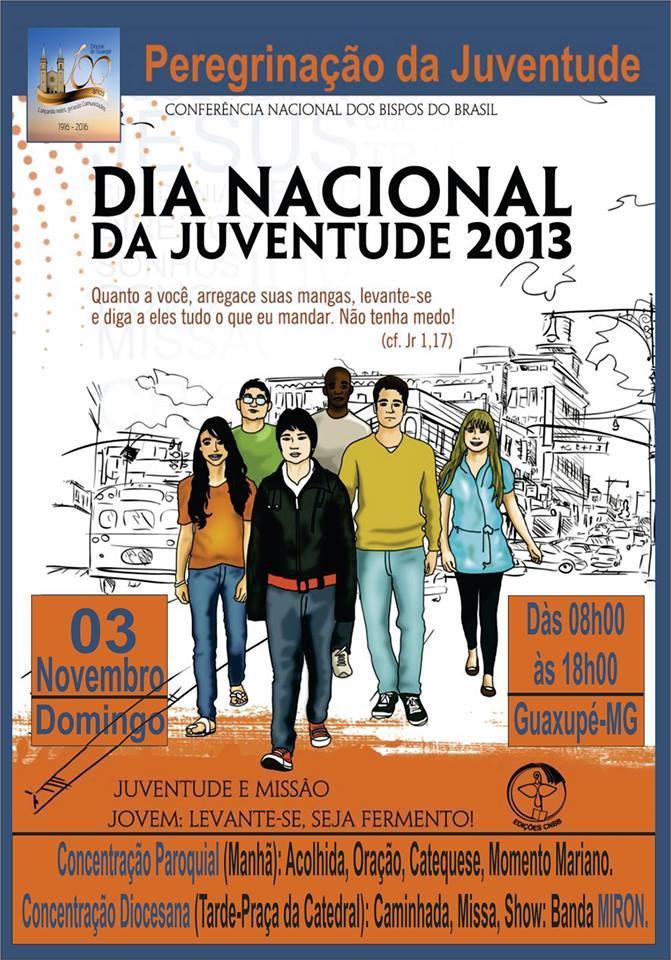 Jovens de Guaxupé viverão DNJ no próximo domingo