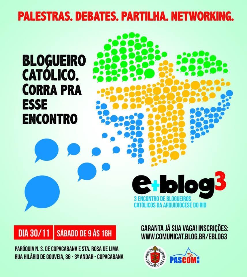 Encontro de blogueiros católicos no Rio reflete desafios pós-JMJ