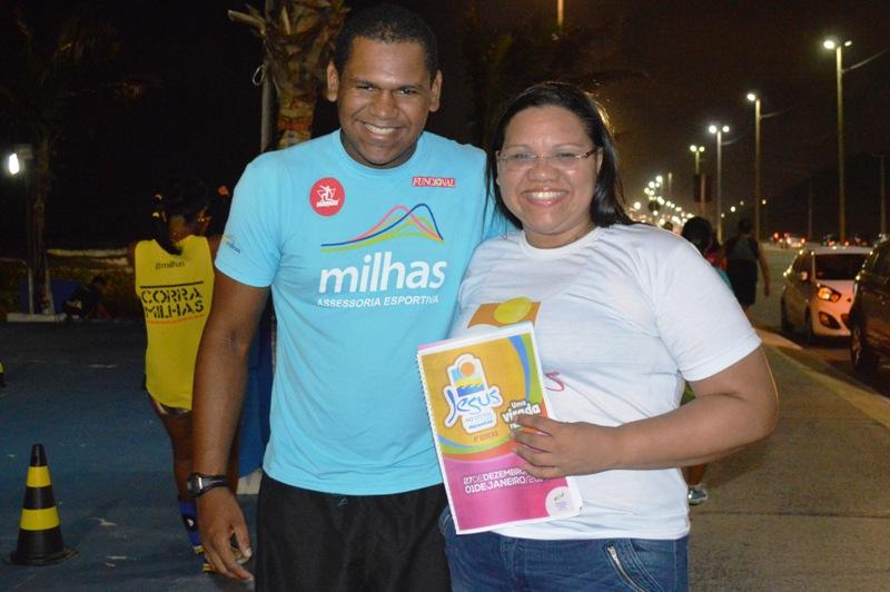 """No Maranhão, Jesus no Litoral terá parceria com """"Milhas assessoria esportiva"""""""