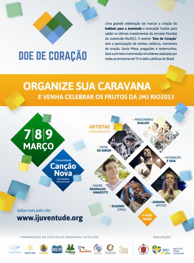 """Evento """"Doe de Coração"""" lança Instituto para a Juventude"""