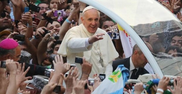 Mensagem do Papa Francisco para a JMJ 2014