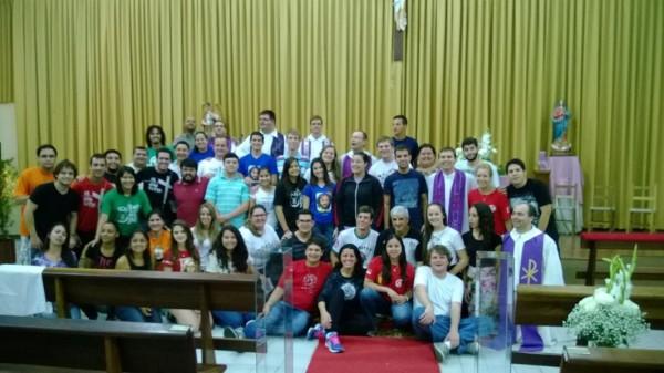 Juventude Gaúcha está em processo de formação para viver Missão