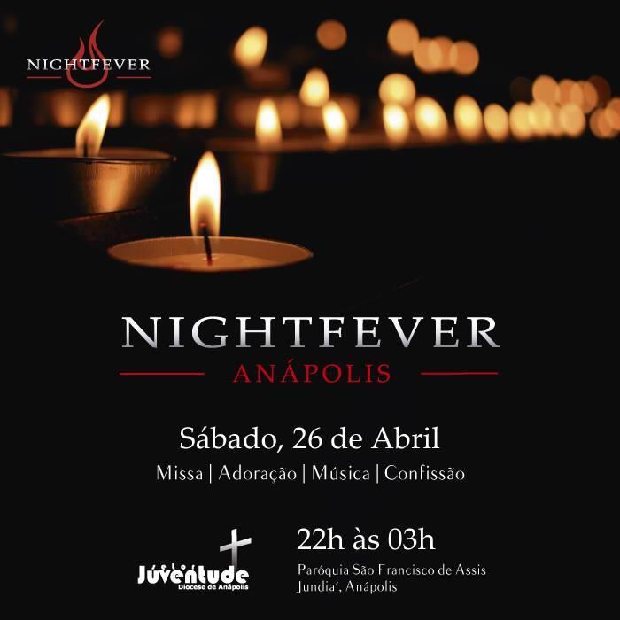 Diocese de Anápolis realiza o primeiro Nightfever