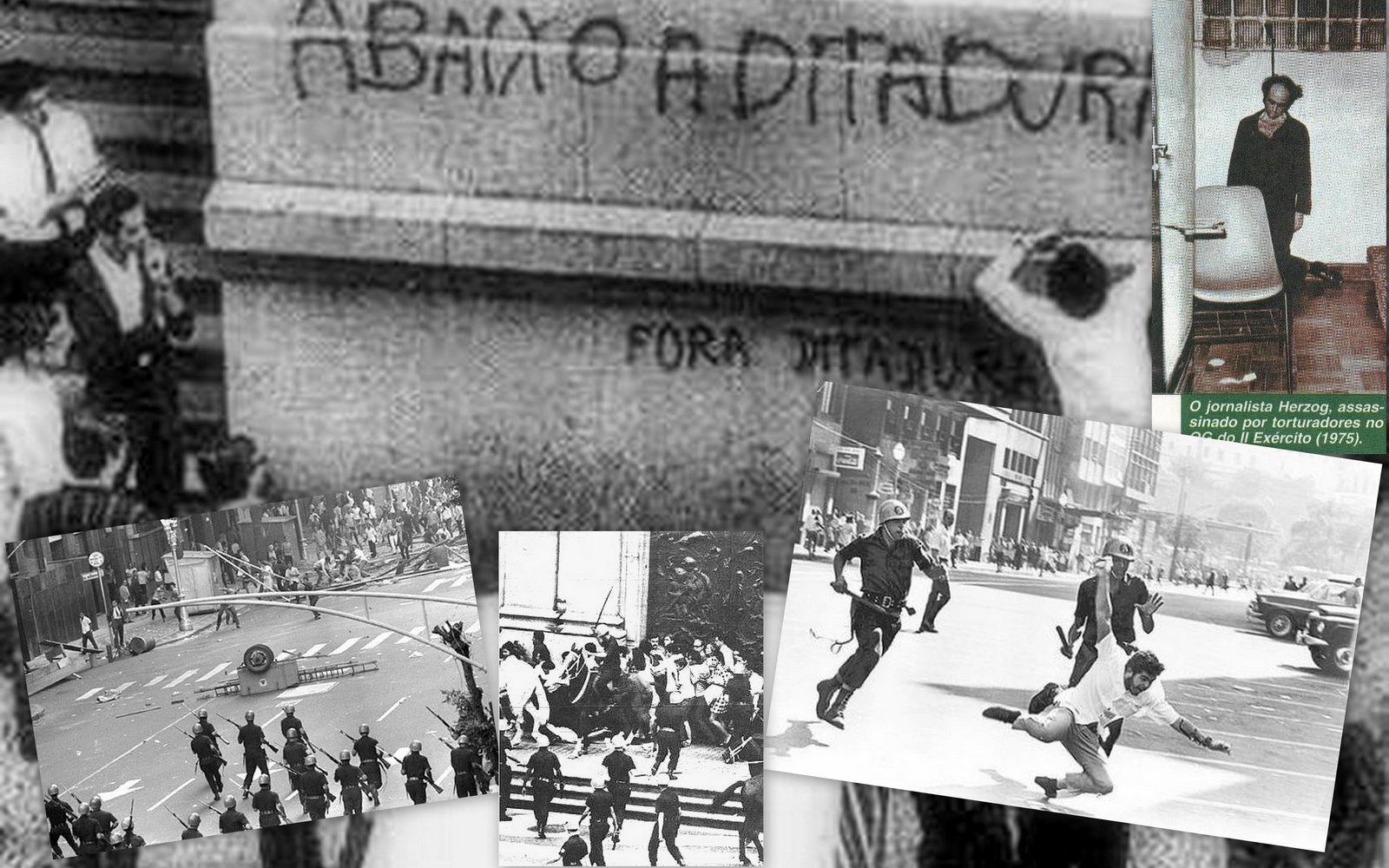 50 anos do golpe militar relembram a atuação dos jovens no período