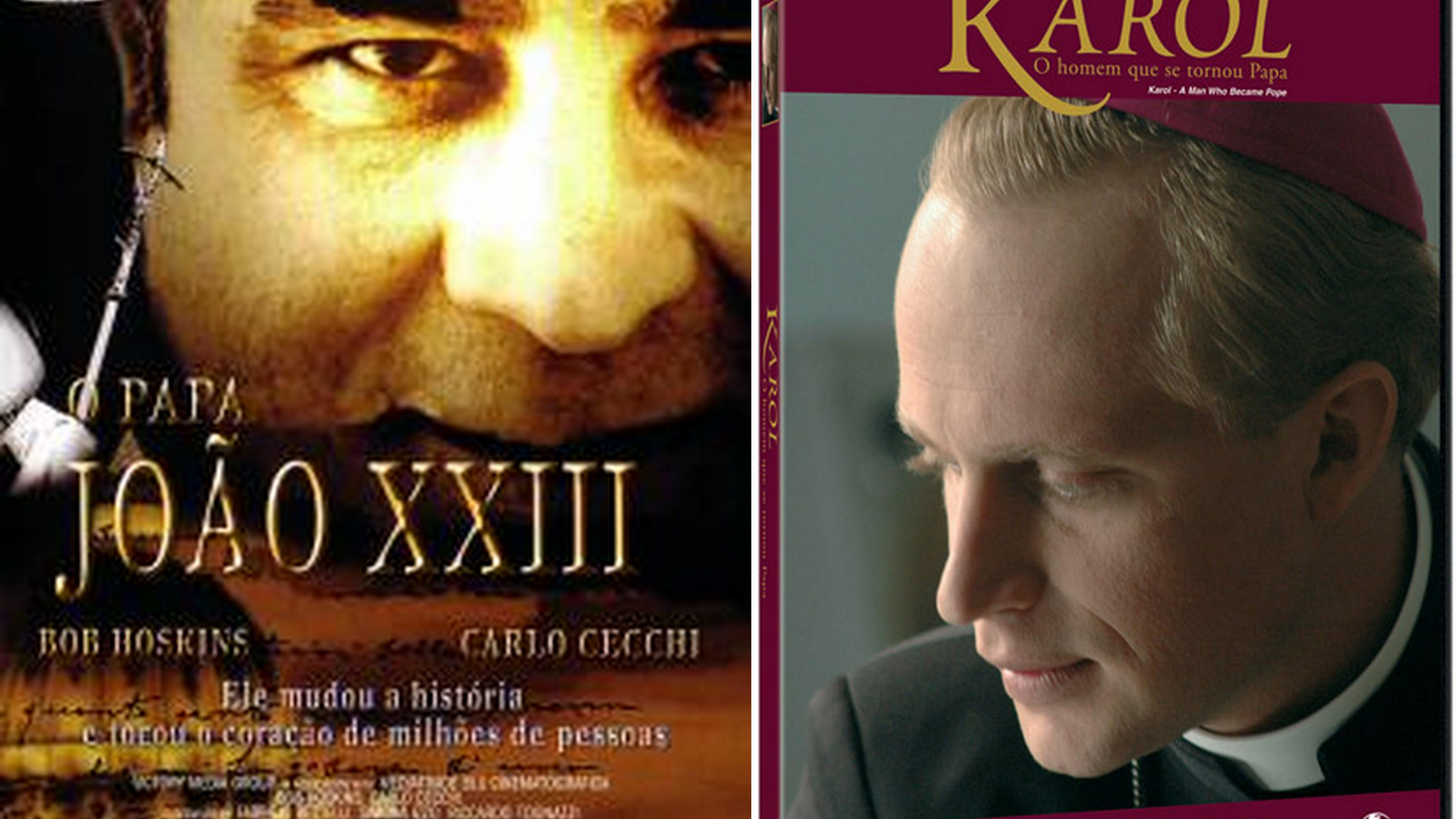 Filmes retratam a história de João XXIII e João Paulo II