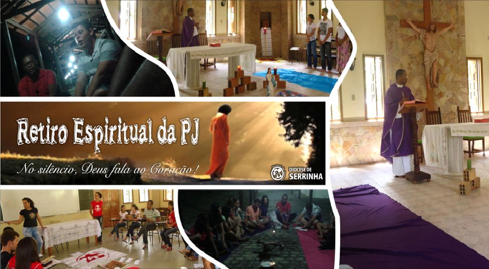 PJ de Serrinha, na Bahia, realiza retiro de silêncio e contemplação