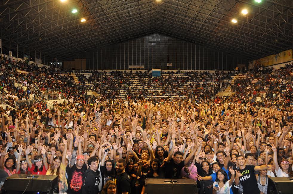 Congresso da Juventude reúne mais de 6 mil jovens em Teresópolis