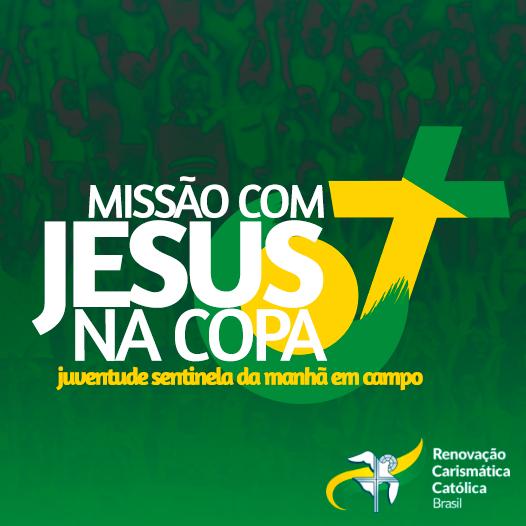 """Ministério Jovem vai a campo na missão """"Com Jesus na Copa"""""""