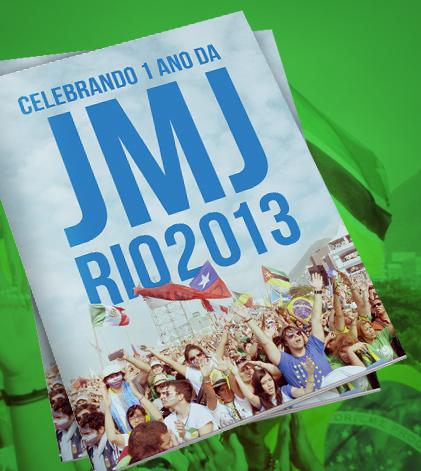 Participe da comemoração #1anoJMJRio