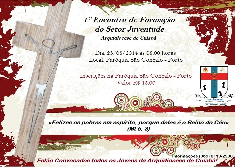 Setor Juventude de Cuiabá promove 1º Encontro de Formação