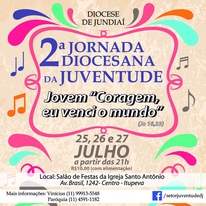 Diocese de Jundiaí realiza JDJ
