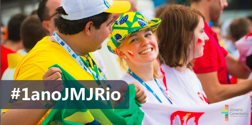 Álbum virtual de fotos relembra um ano de Jornada no Brasil
