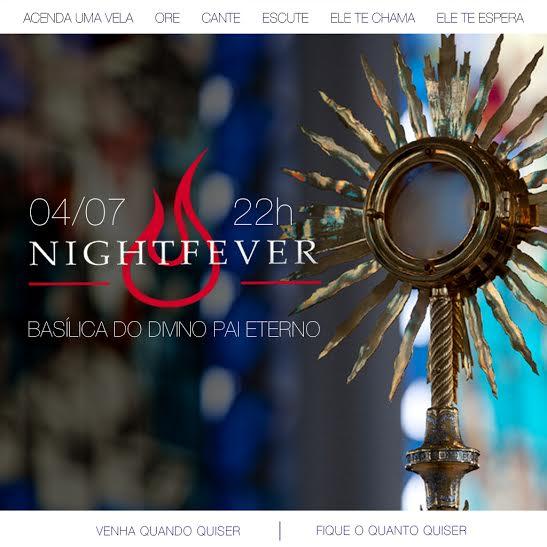 Arquidiocese de Goiânia promove maior Nightfever do mundo