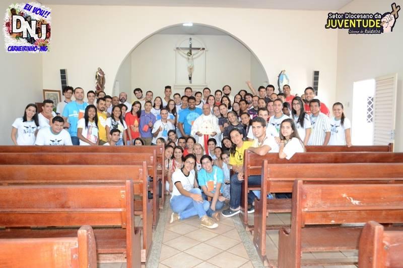 Preparação do DNJ na Diocese de Ituiutaba MG