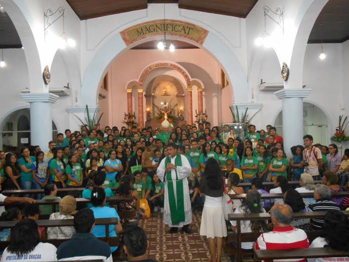 Jovens de Belém realizam Semana Missionária para celebrar #1anoJMJRio